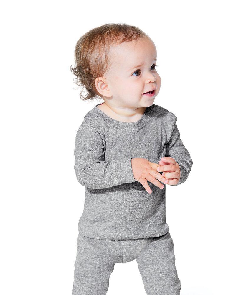 Rabbit Skins LA101Z - Infant Long Sleeve Pajama Top
