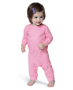 Rabbit Skins LA4412 - Infant Baby Rib Coverall