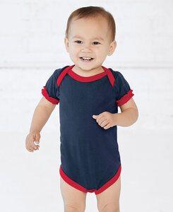 Rabbit Skins LA4429 - Infant Ruffle Jersey Bodysuit