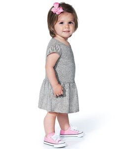 Rabbit Skins LA5320 - Infant Baby Rib Dress