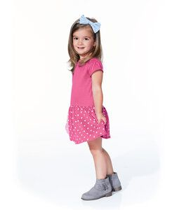 Rabbit Skins LA5323 - Toddler Baby Rib Dress
