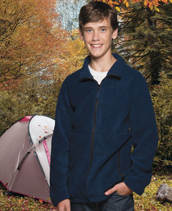 Sierra Pacific SP4061 - Sierra Pacific Youth Full Zip Fleece