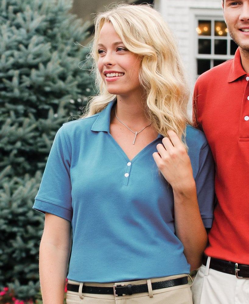 Whispering Pines WP0200 - Jonathan Corey Ladies' Pima Cotton Sport Shirt