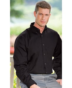 Whispering Pines WP0626 - JonathanCorey Mens Long Sleeve Soil Release Treated Easy-Care Twill