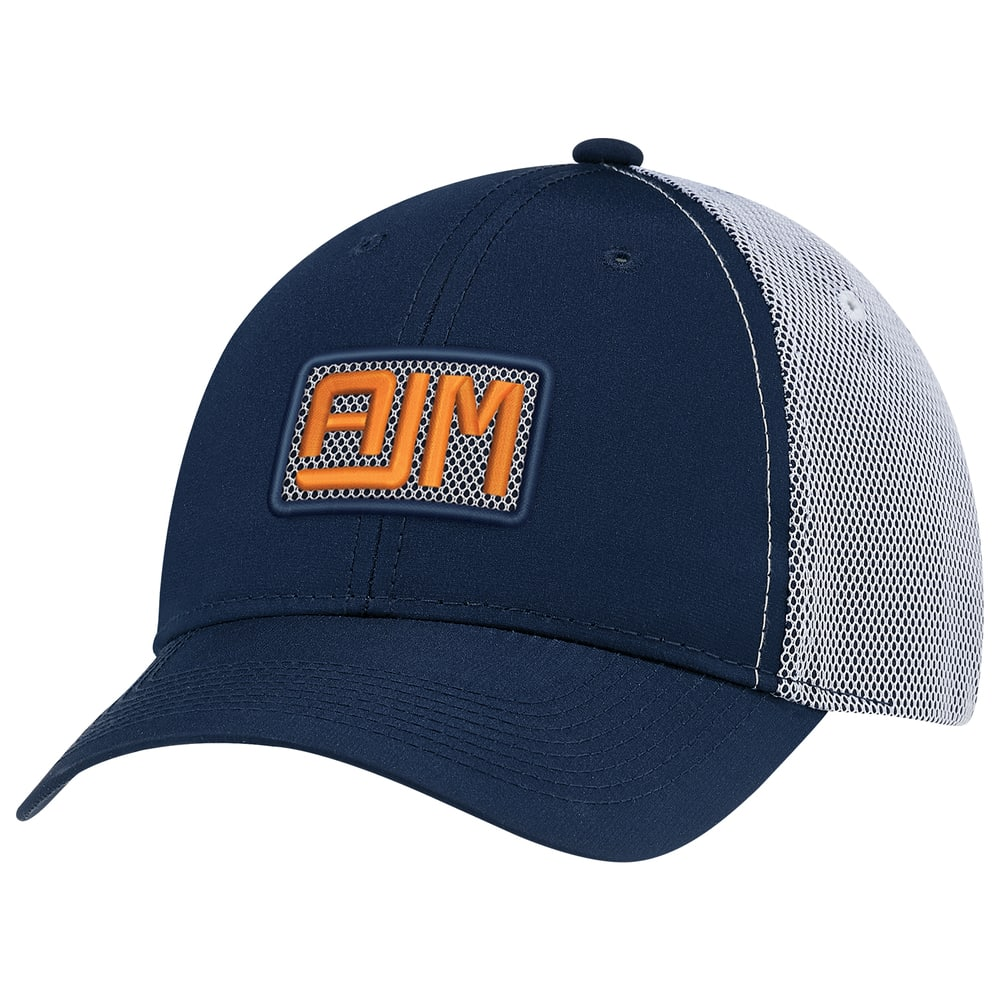 AJM 1B637M - Polyester Rip Stop / Polyester Rip Stop Bonded Mesh 6 Panel Constructed Full-Fit