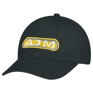 AJM 2C390M - Heavyweight Brushed Cotton Drill 6 Panel Constructed Contour