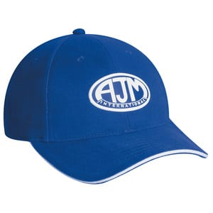 AJM 2C430M - Heavyweight Brushed Cotton Drill 6 Panel Constructed Contour