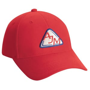 AJM 2C440M - Heavyweight Brushed Cotton Drill 6 Panel Constructed Contour