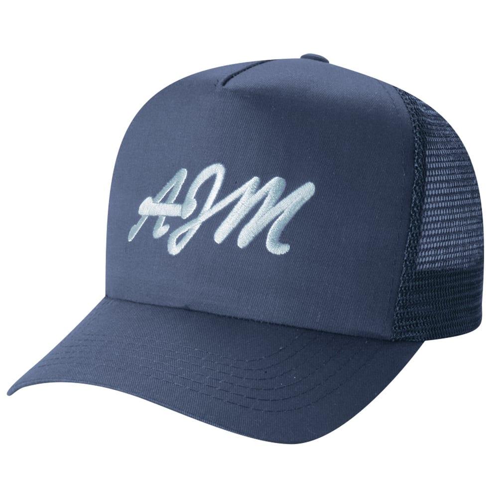 AJM 5050M - Polycotton / Nylon Mesh 5 Panel Traditional (Mesh Back)
