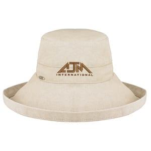 AJM 9L000L - Coton Rugueux Bordure large style deluxe (Femmes - une grandeur pour tous)