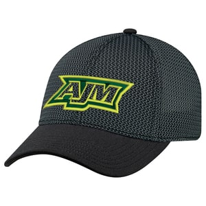 AJM AC5016 - Deluxe Polyester / Open Mesh 6 Panel Constructed Contour (A-Class, A-Flex)