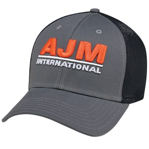 AJM AC5025 - Deluxe Chino Twill / Polyester & Spandex Mesh 6 Panel Constructed Contour (Mesh Back, A-Class, A-Flex)