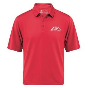AJM PM1001 - Polos Performance Pour Hommes 100% Polyester Tricot Piqué. 155g/m2 - 4.5oz/vg2