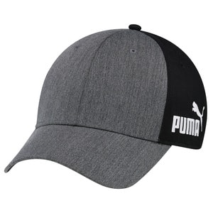 Puma PUMA020 - Heather / Polyester Microfibre 6 Panel Constructed Full-Fit (A-Class, PUMA®)