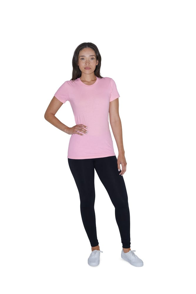 American Apparel AM2102 - T-shirt Crewneck Fine Jersey SS For Her