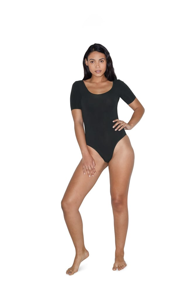 American Apparel AM8373 - Body Manches Courtes Femme