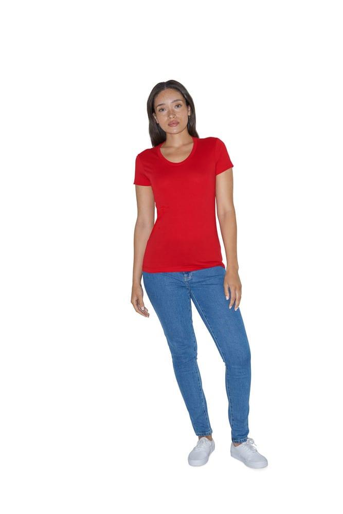 American Apparel AMBB301 - T-shirt Manches Courtes pour Femme