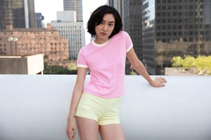 American Apparel AMBB310 - Ringer T-shirt For Her
