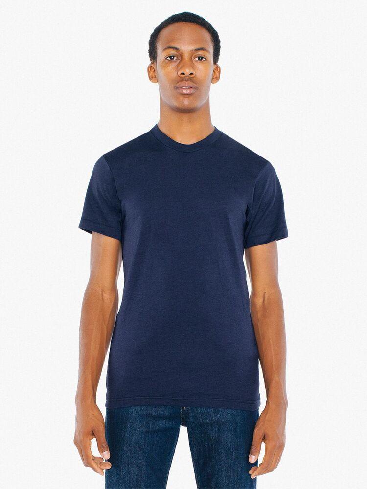 American Apparel AMBB401 - T-shirt Pol/Cot SS For Him