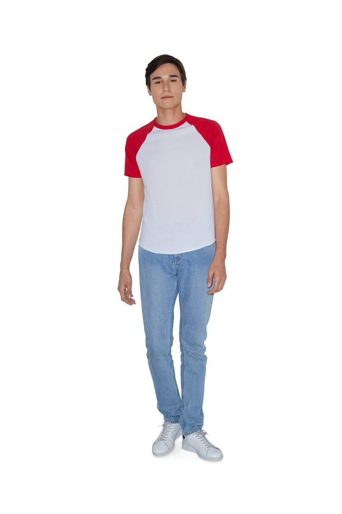 American Apparel AMBB4237 - T-shirt Raglan Unisexe