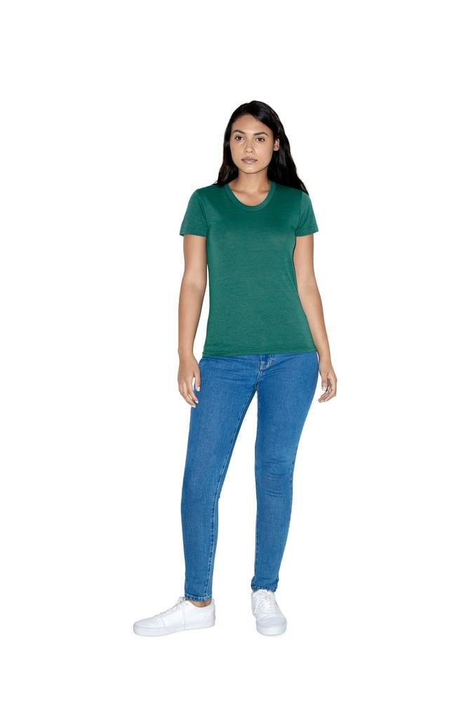 American Apparel AMTR301 - T-shirt Crewneck Tri-Blend For Her
