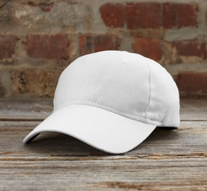 Anvil ANV136 - Solid Brushed Twill Cap
