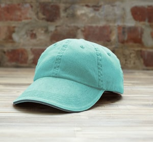 Anvil ANV166 - Sandwich Trim Pigment-Dyed Twill Cap