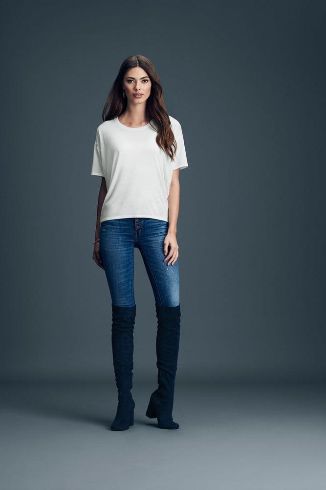 Anvil ANV36PVL - T-shirt Coupe Ample pour Femme