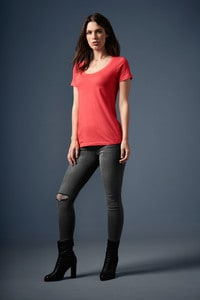 Anvil ANV391 - T-shirt donna Featherweight Scoop