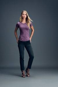 Anvil ANV6750L - T-shirt Col Rond pour Femme