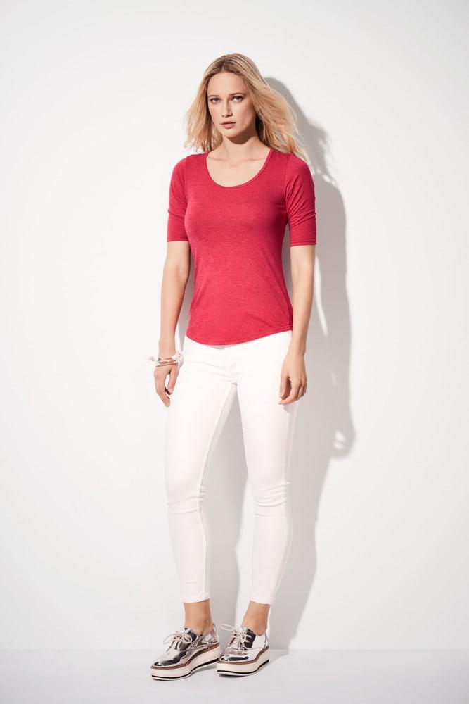Anvil ANV6756L - T-shirt Femme TriBlend Manches 1/2