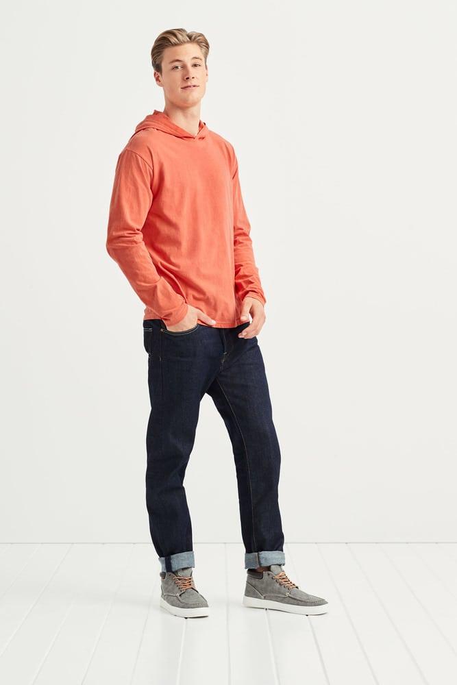 Comfort Colors COM4900 - T-shirt à Manches Longues et Capuche pour Homme