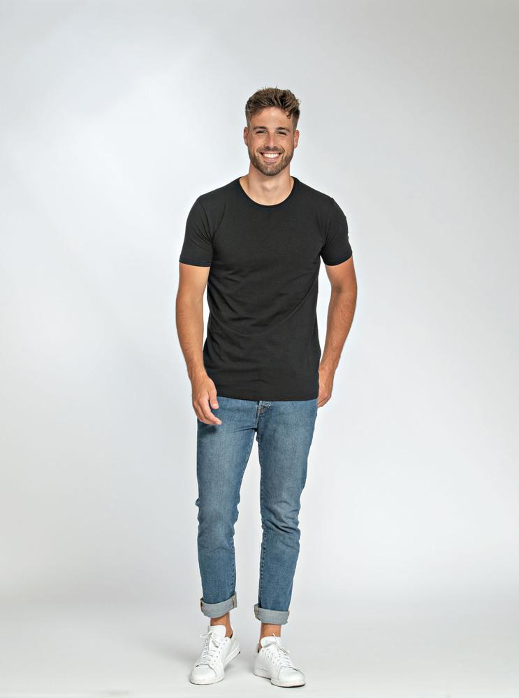 Lemon & Soda LEM1130 - T-shirt Col Rond Elasthanne