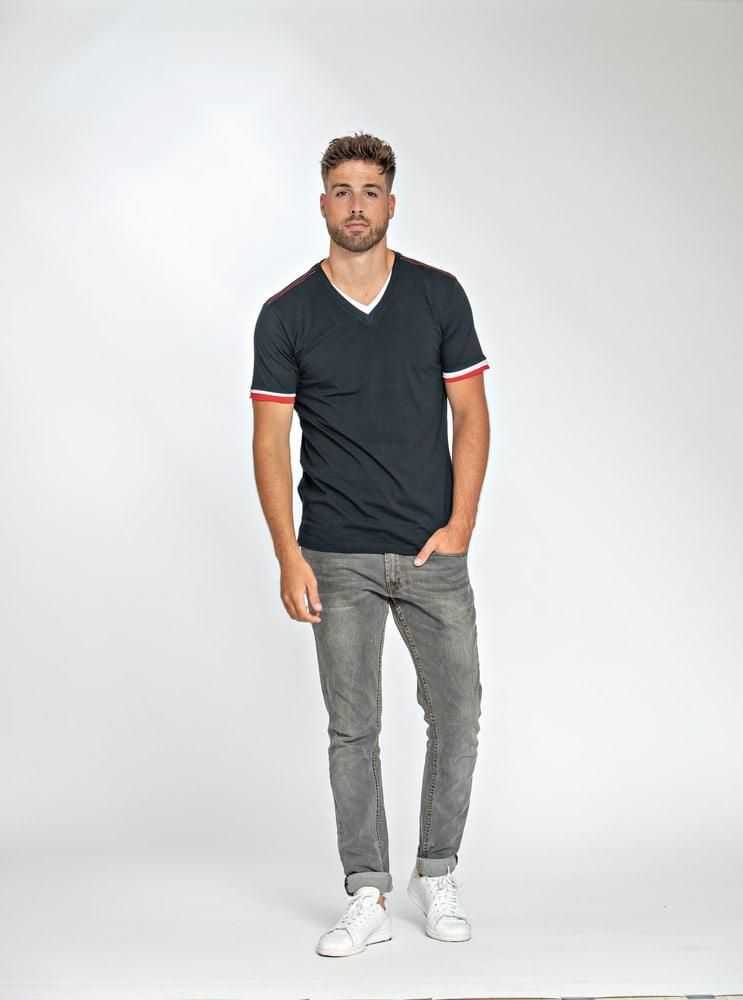 Lemon & Soda LEM1263 - T-shirt Double-V SS Homme