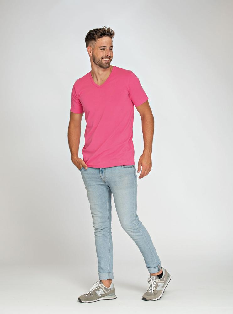 Lemon & Soda LEM1264 - T-shirt Col V SS Homme