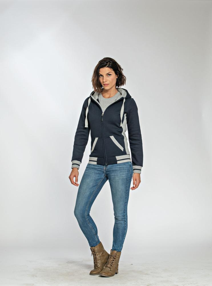Lemon & Soda LEM3220 - Heavy Sweater Hooded Cardigan for her