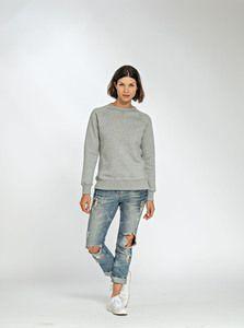 Lemon & Soda LEM3227 - Heavy Sweater Raglan Crewneck for her