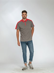 Lemon & Soda LEM3580 - Polo Zip SS for him