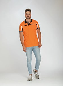 Lemon & Soda LEM3595 - Polo Tipping SS Homme