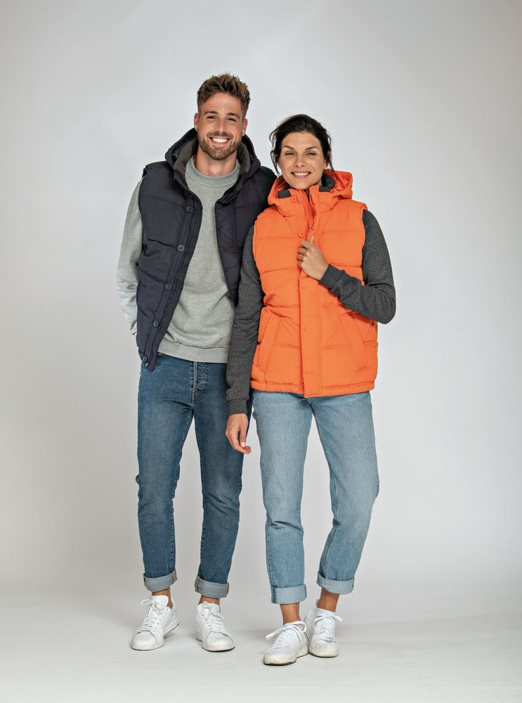 Lemon & Soda LEM3795 - Bodywarmer Hooded Unisex