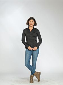 Lemon & Soda LEM3912 - Shirt Twill LS for her
