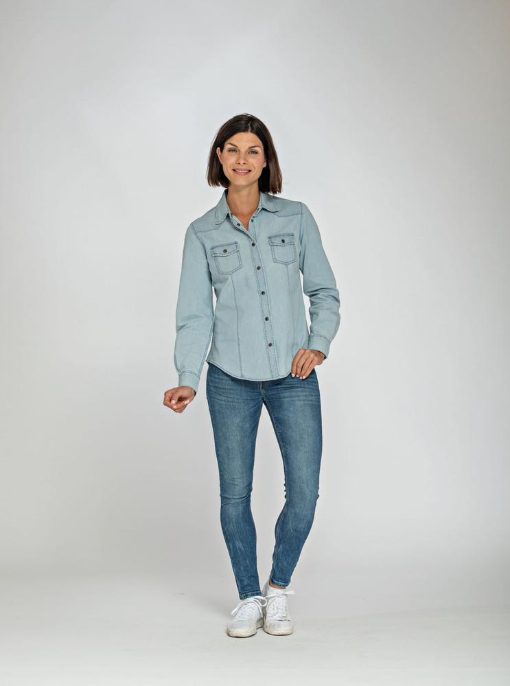 Lemon & Soda LEM3950 - Denim Shirt LS for her