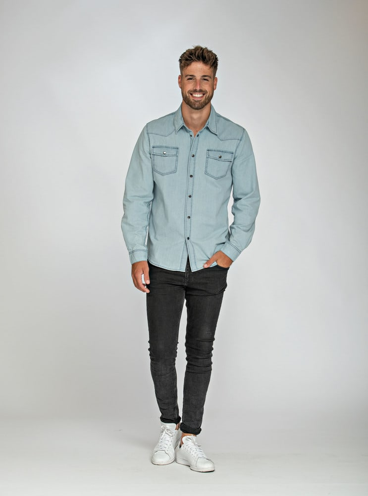 Lemon & Soda LEM3960 - Denim Shirt LS for him