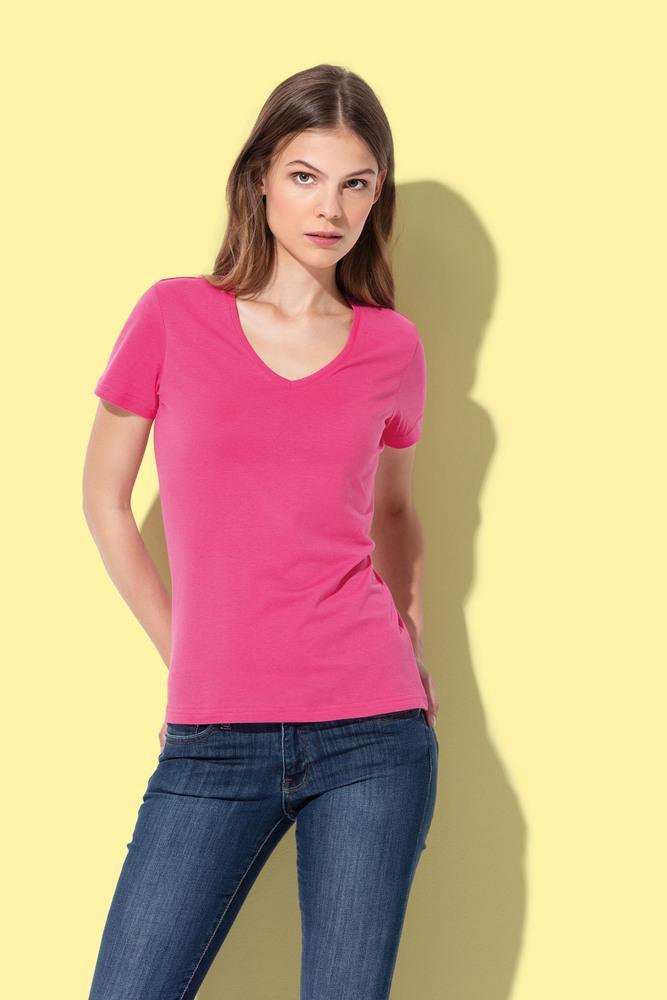 T-shirt V-Neck Classic-T SS for women