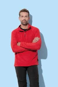 Stedman STE5020 - Polar Fleece Half Zip Active