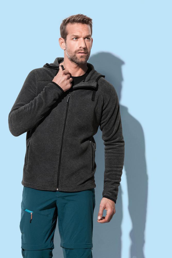 Stedman STE5040 - ACTIVE Veste polaire à capuche pour hommes