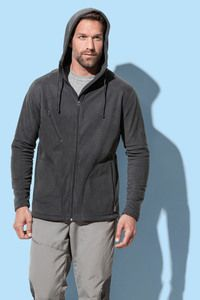 Stedman STE5080 - Polar Fleece Cardigan Hooded Activ for him