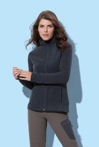 Stedman STE5100 - Polar Fleece Cardigan Active for her