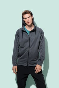 Stedman STE5830 - Sweater Hooded Zip Performance for him