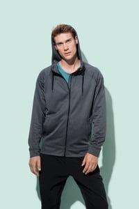 Stedman STE5830 - Sweater Hooded Zip Performance for him